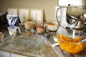 Sweet Potato Oat Bars Ingredients